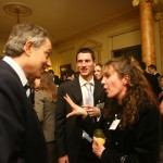Kate Bellingham meeting Tony Blair at Number 10