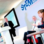 Kate on the panel for East Midlands STEM Careers Day